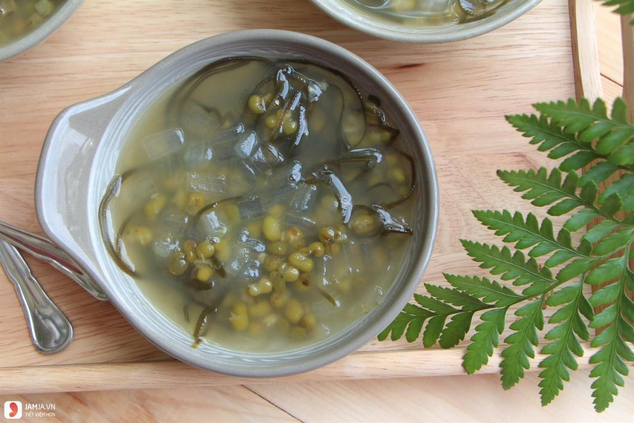 Cách nấu chè đậu xanh