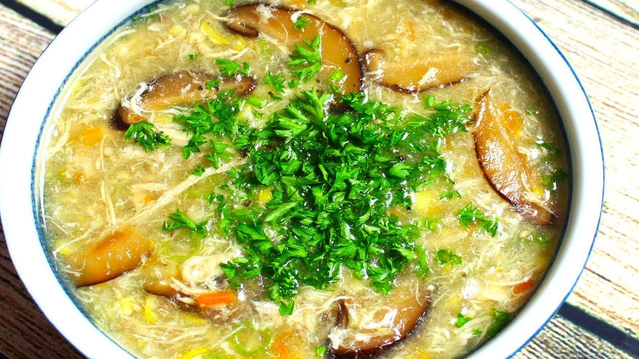 Cách nấu súp gà