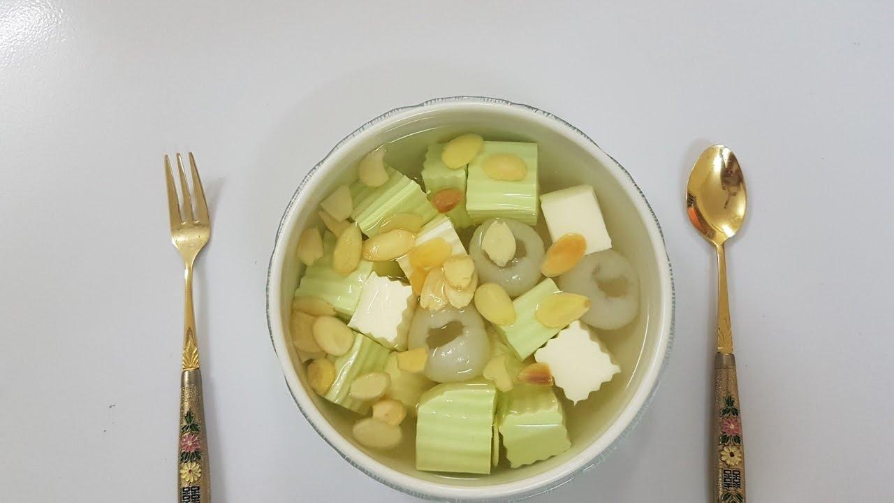 Cách nấu chè khúc bạch